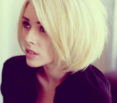 Trendy Bob Hairstyles for Blondes