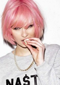 Bob Hairstyles for Pink Hair