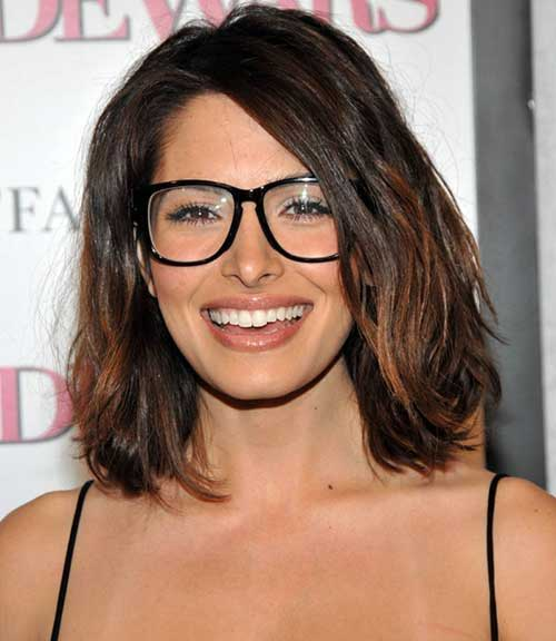 Best Brown Long Bob Haircuts