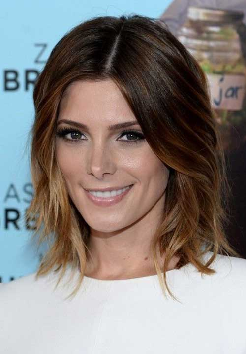 Brown Ombre Bob Styles