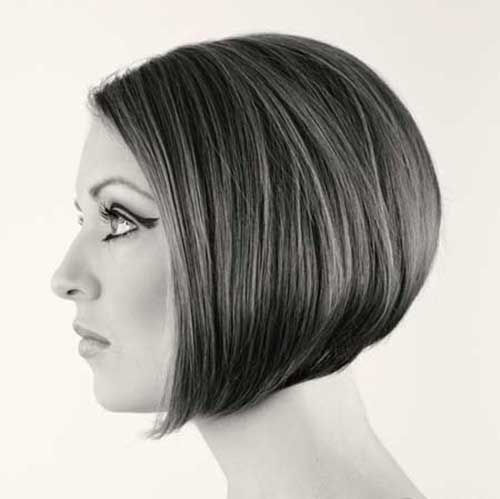 Chin Length Inverted Bob Hairstyles