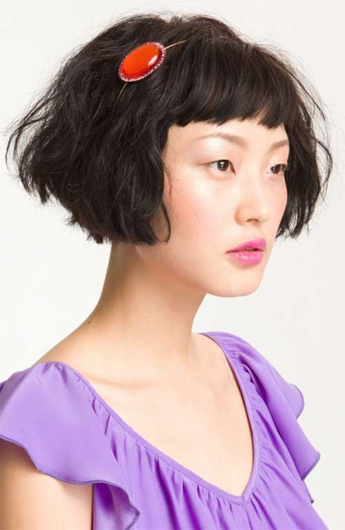 Chinese Voluminous Bob Cuts