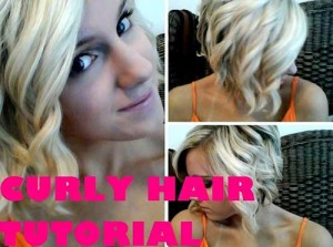 Curled Bob Hairstyles