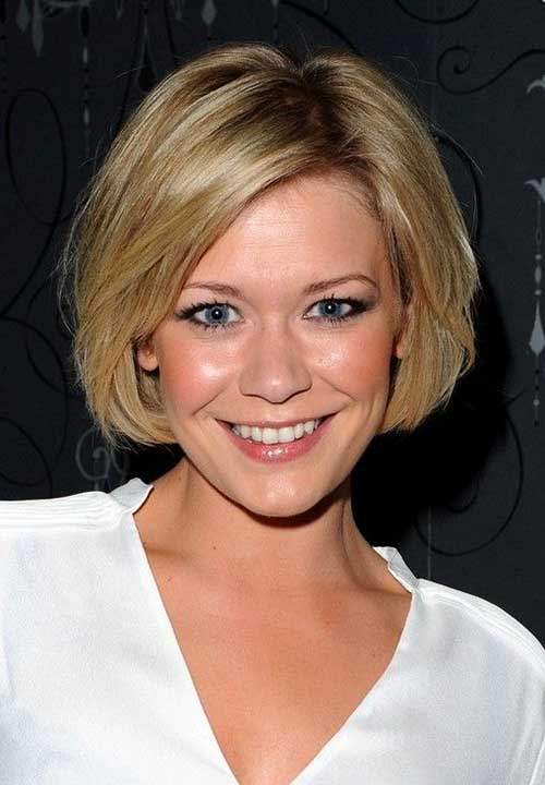 Best Cute Bobs for Round Faces