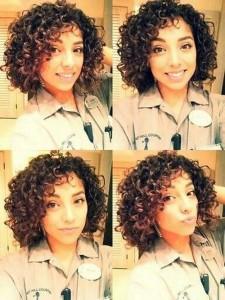 Best Girls Curly Bob Haircuts