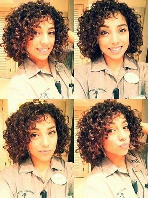 Best Girls Curly Bob Haircuts