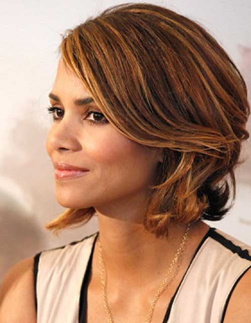 Halle Berry Classy Bob Haircut