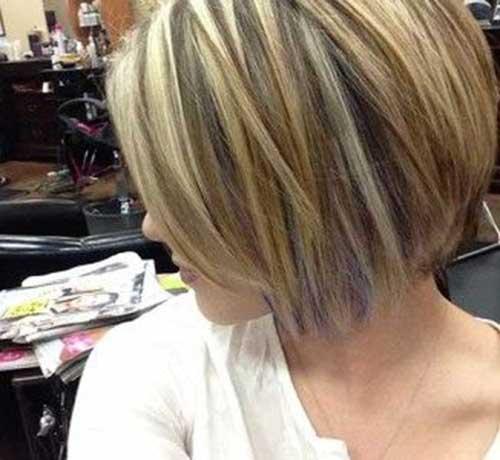 Highlighted Styles for Bob Cut Hair