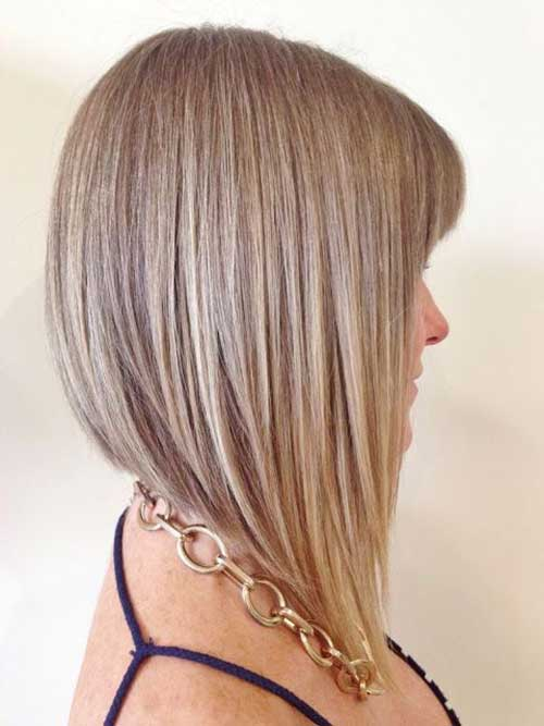 Best Long Inverted Bob Haircut