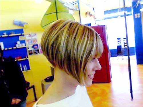 Best Images Of Angled Hair Bobs