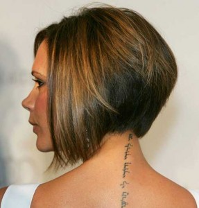 Inverted Stacked Bob Hair