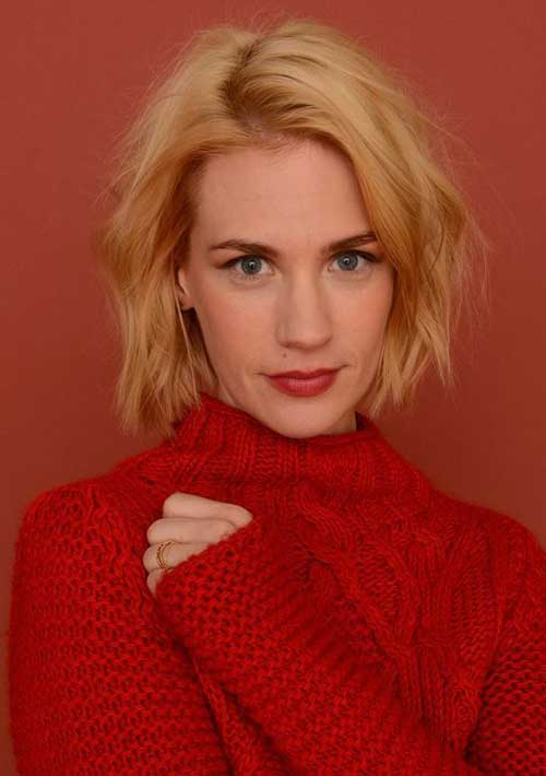 January Jones Modern Bob Hairstyles