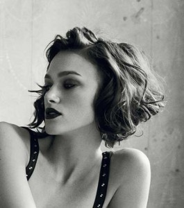 Best Keira Knightley Hairstyles Bob