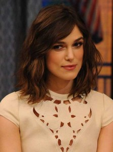 Kiera Knightley Long Bob Haircuts