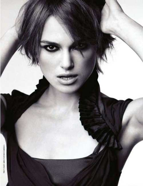 Kiera Knightley Short Hair Bob Cuts