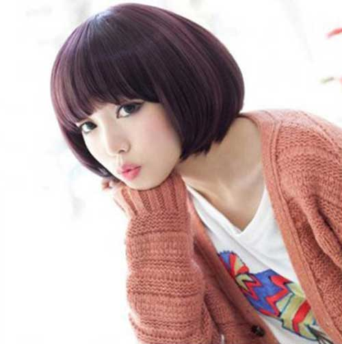 Korean Blunt Bob Hairstyle