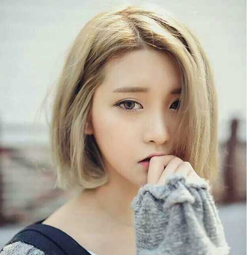 Korean Bob Hairstyle