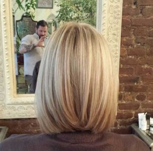Long Blonde Bob New Style 2015
