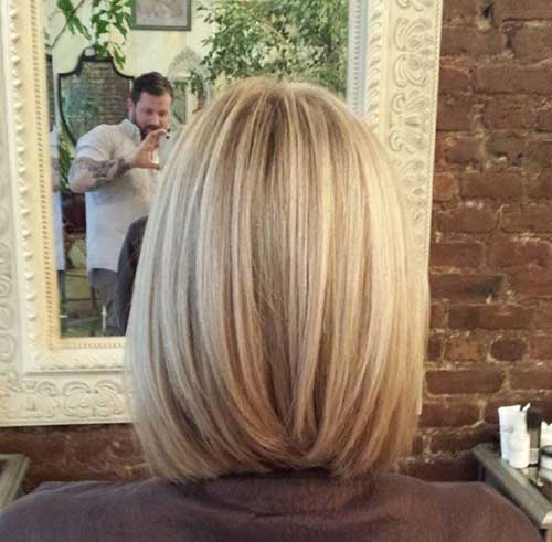 Long Blonde Bob New Style 2015