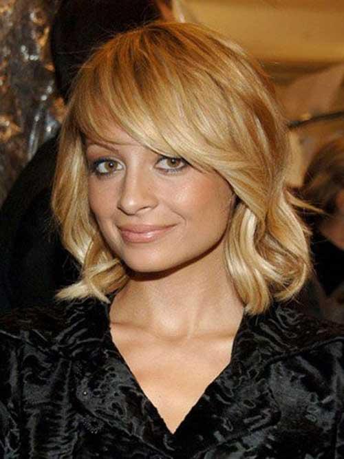 Nicole Richie Blonde Bob Hair