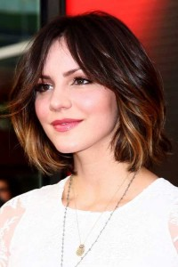 Ombre Bobbed Brown Hairstyles