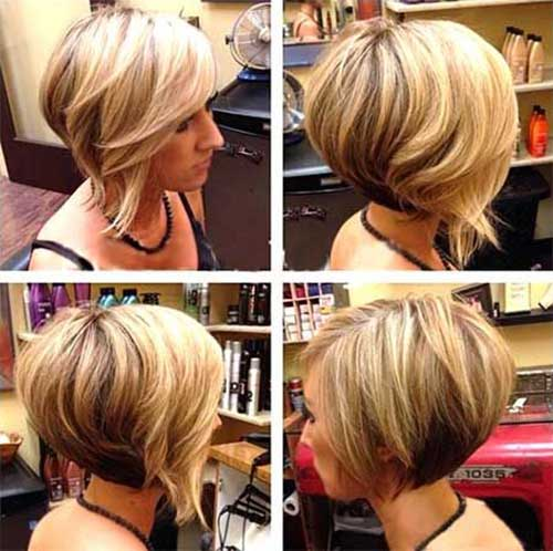 Pics Of Stacked Bob Hairstyles