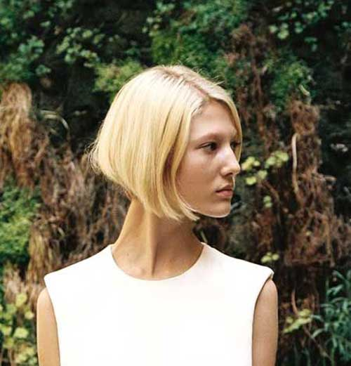 Pictures Of Blonde Bobs Hairstyles