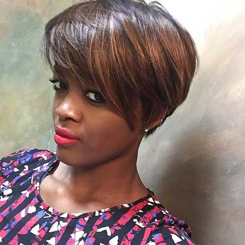 Short Pixie Bobs for Black Women