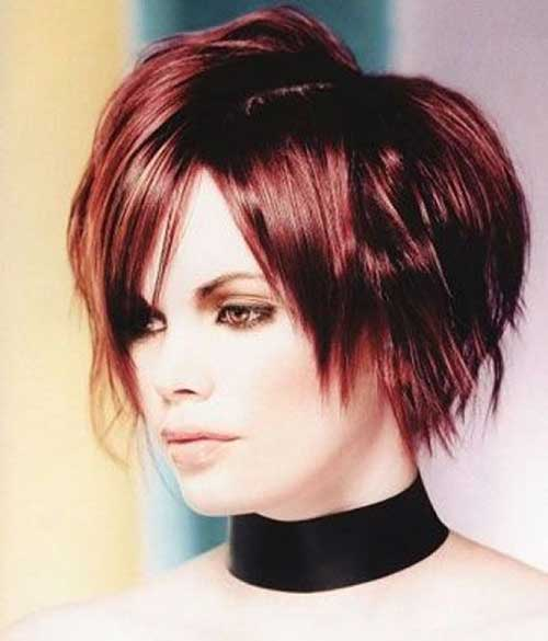 Razored Funky Bob Hairstyles