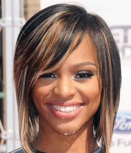 Sexy Highlighted Bob Hairstyles for Black Women
