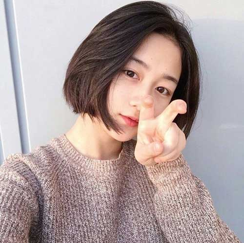 Short Asian Bob Hair