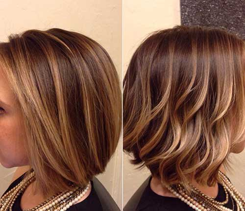 Short Bob Balayage Hair