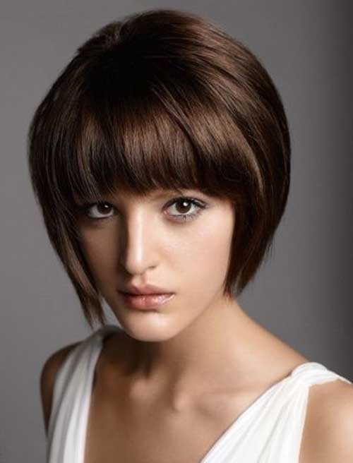 Images Short Bob Haircuts with Bangs