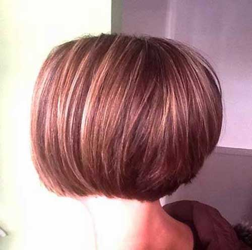 Short Bob Hairstyles Back View Pics