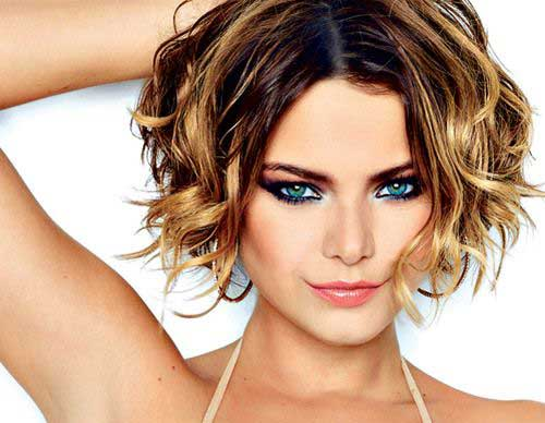 Short Curly Bob Hairstyles Images