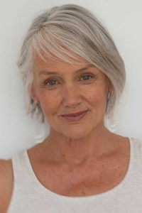 Short Grey Bob Hairstyles for Older Women