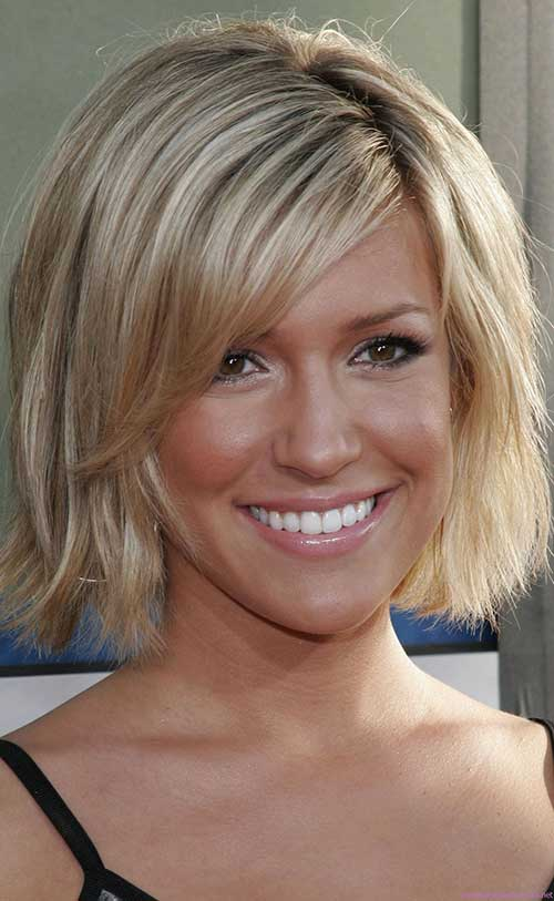 Short Layered Blonde Bob Images