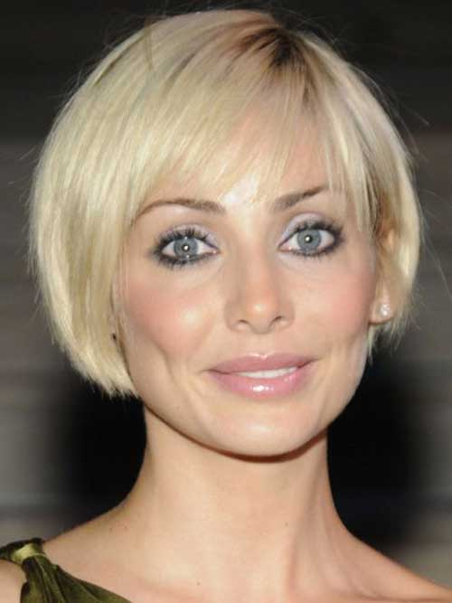 Images Short Straight Blonde Bob