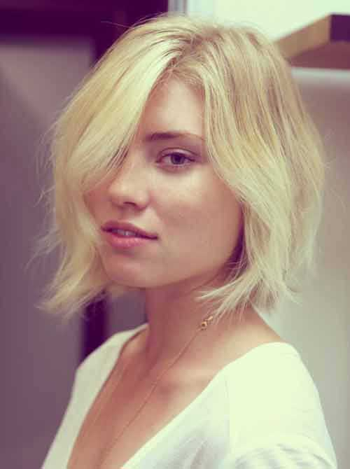Soft Wavy Bob Hairstyles for Women