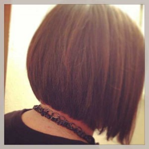 Stacked Bob Straight Hairstyles Pics