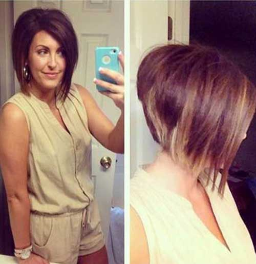 Stacked Bob Hairstyles for Girls