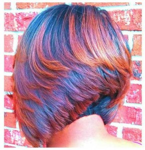 Stylish Razored Bob Haircut