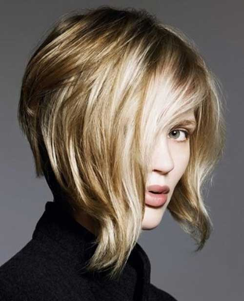 Trendy Layered Bobs