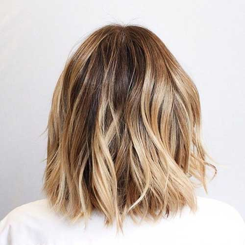 Highlighted Bob Hair-11