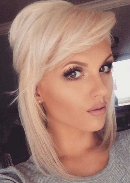 Chic Bob Ideas With Side Swept Bangs Bob Hairstyles 2018