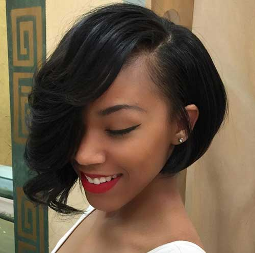 Bob Hairstyles for Black Girls-9