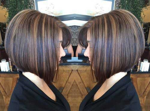 Highlighted Bob Hair-9