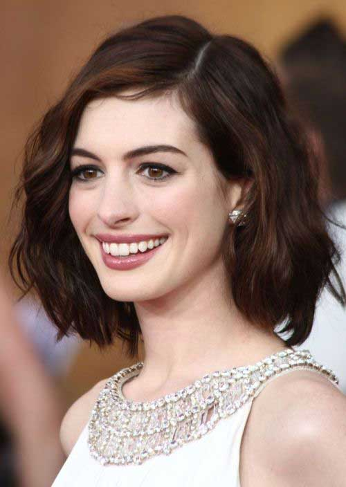 Nice Anne Hathaway Bob