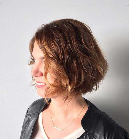 short bob haircuts for thick hair stylish bob haircuts for thick hair bob hairstyles 2018 1180 | Bob Haircut for Thick Hair