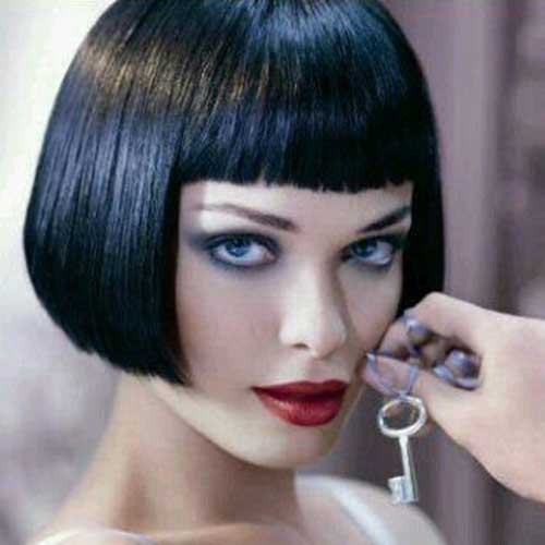 Chic French Bob Hair
